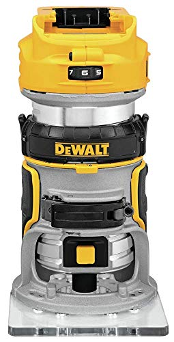 DEWALT 20V MAX XR Cordless Router, Brushless, Tool Only (DCW600B) (Renewed)