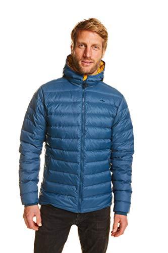 Jeff Green Herren Leichte 800 Cuin Daunenjacke Andy Inklusive Transportbeutel, Größe - Herren:XL, Farbe:Jeans