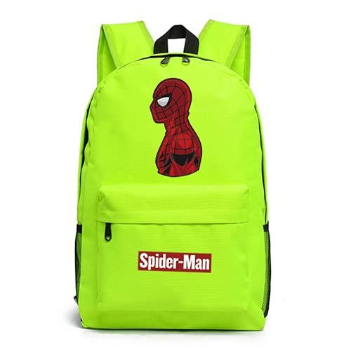 Spiderman Luminous - Mochila para niños, diseño de superhéroe, Spiderman 2., talla única,