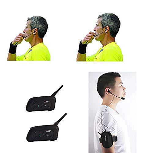 Schiedsrichter-Headset 2 Schiedsrichter Vollduplex-Football-Funk-Headsets Funk-Football-Headsets Kopfhörer-Football-Schiedsrichter-Kommunikation