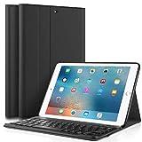 iPad Keyboard Case for iPad 9.7 Inch 2018 (6th Gen) - iPad 9.7 Inch 2017 (5th Gen) - iPad Air 2 - iPad Air 1,...