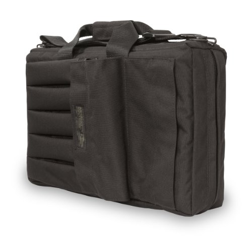 Fantastic Deal! Elite Survival Systems ELSSMGC-B-5 Submachine H&K Ump Gun Case, Black, 18