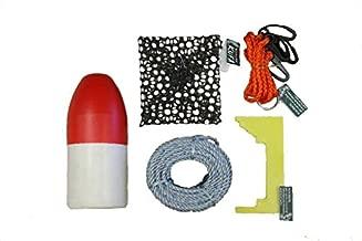ZALTANA KUFA Crabbing Accessory kit (100' Lead Rope,Caliper,Harness,Bait cage & Float) CAC-1