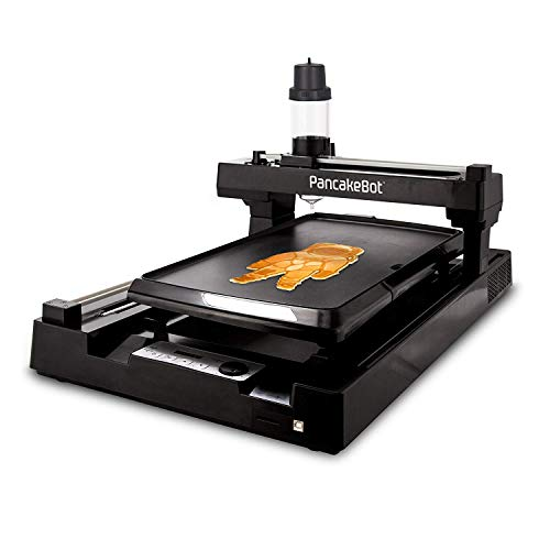 PancakeBot 2.0: 3d Pancake Food Printer + Nonstick Electric Griddle with Temperature...