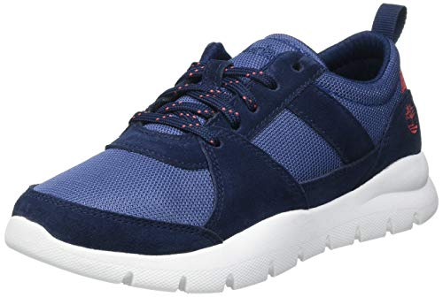 Timberland Boroughs Project Mix (Junior), Sneakers Basse, Blu Navy, 36 EU