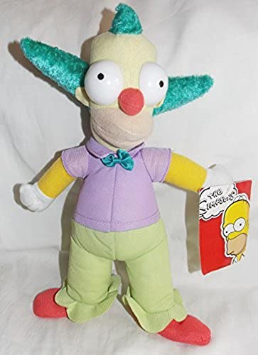 The Simpsons Krusty the Clown 12 Plush Doll by ToyFactory by ToyFactory
