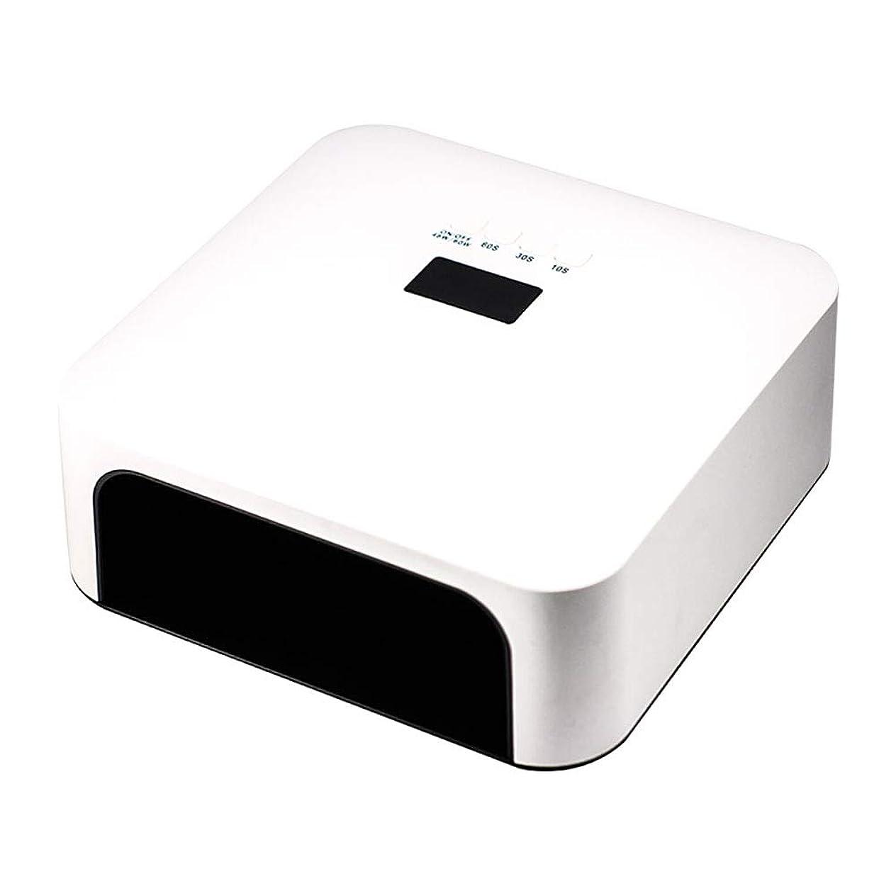 厳容器戸棚釘のドライヤー - 自動赤外線センサー、二重光源のLEDランプのゲルのドライヤーのマニキュアが付いている紫外線携帯用LEDの釘ランプ