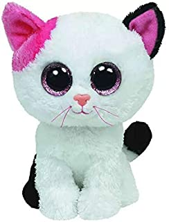 15cm Big Eyes White Cat Plush Doll Stuffed Animal Toys Children's Toys Home Decoration Collection Gifts For Friends Dirgee