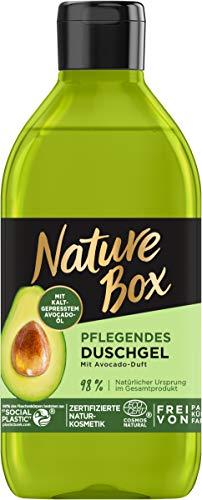 Nature Box Pflegendes Duschgel mit Avocado-Duft, 250 ml