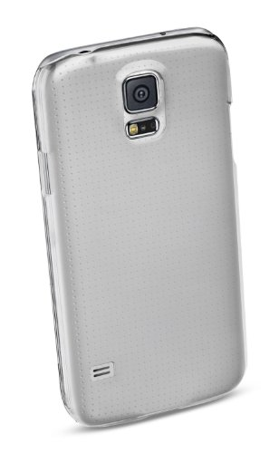 Cellular Line INVISIBLECGALS5 Crystal-Case für Samsung Galaxy S5 (volle Bedienbarkeit) transparent