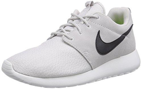Nike Unisex-Erwachsene Roshe Run Suede Low-Top, Grau (Lght Ash Grey/Blk-SMMT Wht-VLT), 47