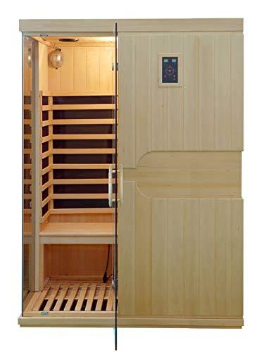 XXL Luxus LED Infrarotsauna-Infrarotkabine Wärmekabine Sauna+ Radio USB MP3 inkl. Lieferung