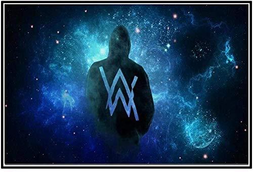 YYLPRQQ Alan Walker Norway Electro House DJ Cantante De Música Estrella Arte Carteles Imprimir Decoración del Hogar 50X70 Cm Sin Marco