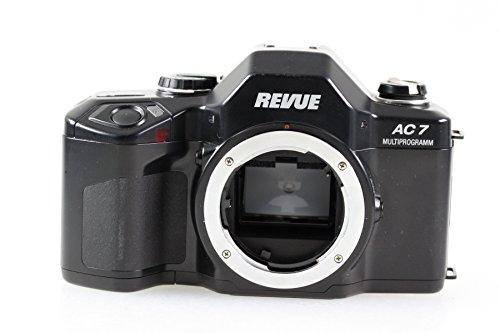 Revue AC 7 AC7 AC-7 Multiprogramm SLR Kamera Spiegelreflexkamera (Gehäuse ohne Objektiv/Body Without Lens)