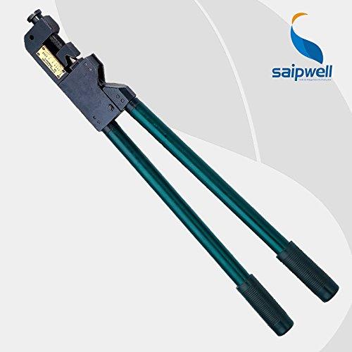 Kh-230 10–240 mm2 Série Tube terminal à sertir outils câble et pince pour Big Taille en cuivre et aluminium tube Bornes