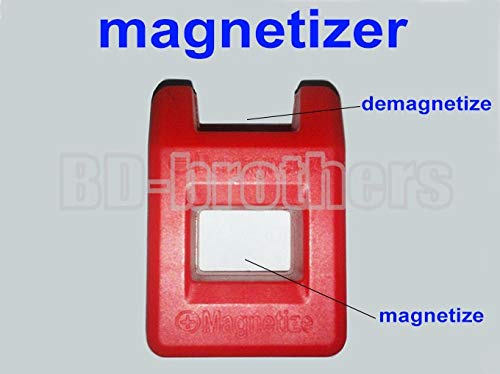 Screwdriver 40mm Colorful Mini Magnetizer/Demagnetizer Tools for Screwdriver 100pcs/lot