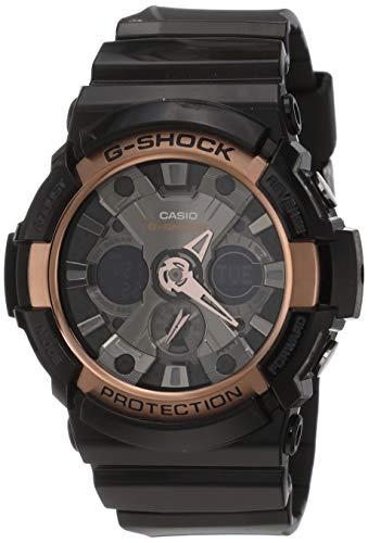 Casio G-Shock Analog-Digital Black Dial Men's Watch-GA-200RG-1ADR