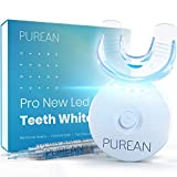 Purean Teeth Whitening Kit with LED Light – 2 Syringes of 5ml Professional 35% Carbamide...