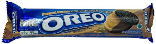 OREO DOUBLE DELIGHT Peanut Butter and Chocolate Biscotto con Burro Di Arachidi e Cioccolato Doppio Gusto 137g