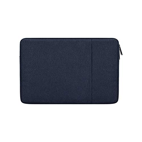YNLRY Waterproof Laptop Sleeve 13.3 14 15 15.6 16 Inches Bag for MacBook Air Pro Ratina Dell HP Notebook Case 13 Inch Cover Women Men (Color : Navy blue, Size : 14 inch)