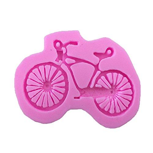 Fablcrew Backform aus Silikon in Fahrrad-Form für Muffins, Schokolade oder Seifenform