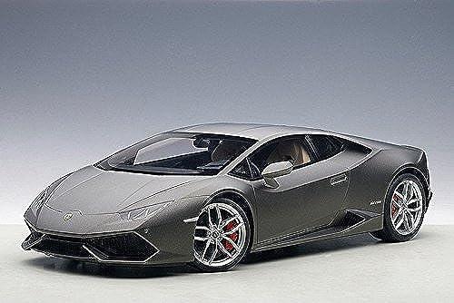 compras de moda online Lamborghini Lamborghini Lamborghini Huracan LP610-4 gris Titans Matt gris 1 18 by Autoart 12099 by AUTOart  Entrega directa y rápida de fábrica