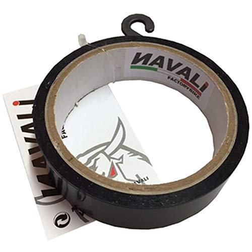 NAVALI Fondo de Llanta Tubeless 11metros x20mm Negro