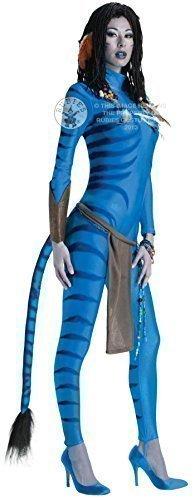 Fancy Me Femme Sexy Neytiri Avatar Combinaison Film Costume Déguisement UK 6-18 - Bleu, 16-18