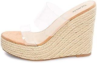 Transparent Plus Size Sandals