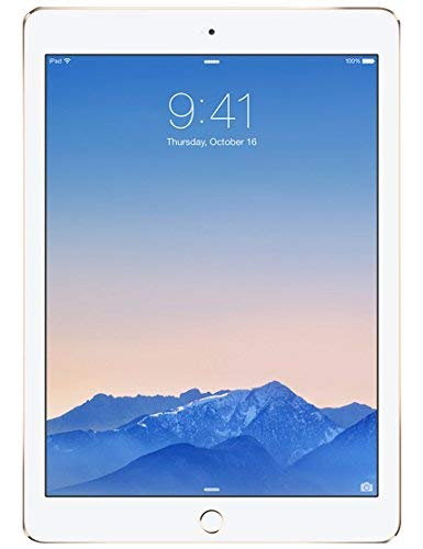 Apple iPad Air 2 64GB Wi-Fi + Cellular - Gold - Unlocked (Renewed)