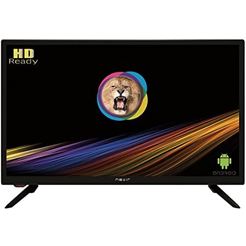 "Nevir TV Led Nvr-8070-24rd2s-sma-n 24"" Inch 60,96 Cms HD Ready Android TV WiFi TDT HD 2 Hdmi 2 USB"