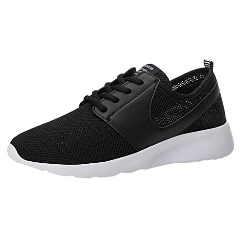 Huazi2 Mens Running Shoes Breathable Sneakers Lightweight Tennis Sport Casual Walking Athletic, Outdoor Jogging Shoes
