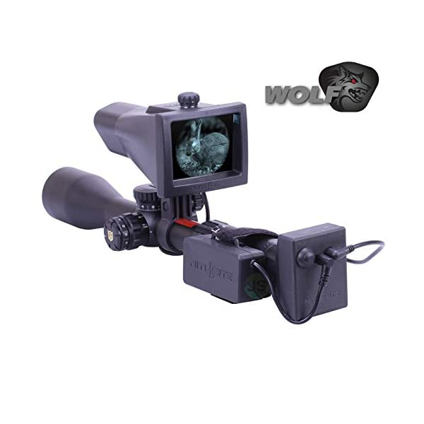 Nitesite Nite Site Wolf Night Vision NV Conversion Kit Scope Mounted 300 Metres Range