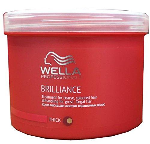 Wella Brilliance Treatment Mask 500ml Coarse/thick