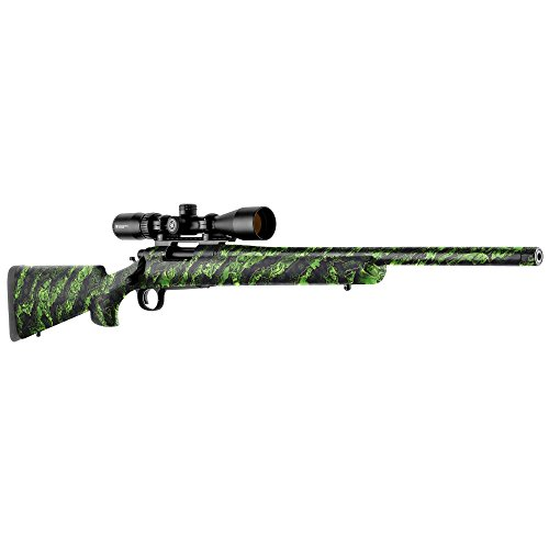 GunSkins Rifle Skin - Premium Vinyl Gun Wrap with Precut Pieces - Easy to Install and Fits Any Rifle - 100% Waterproof Non-Reflective Matte Finish - Made in USA - Proveil Reaper Z