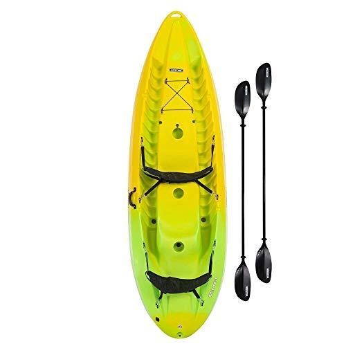 Lifetime 91071 Manta 100 Tandem Kayak, Paddles Included,...