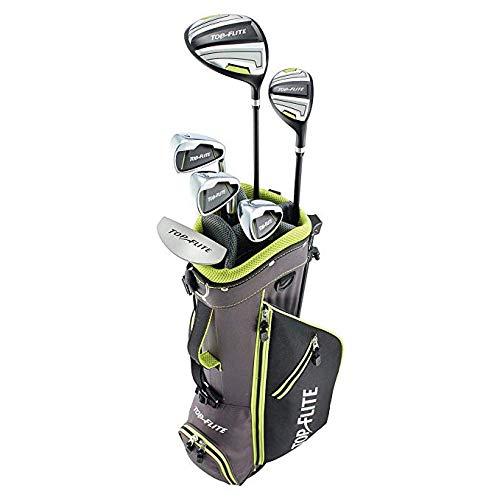 """Top Flite Junior Boys Complete Golf Club Set Ages 9-12 or 53"""" & up Kids Set (Left)"""