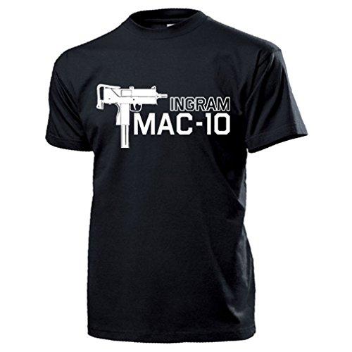 Mac de 10Ingram Uzi eléctrica pistola US Army USA Arma Deko Camisa...