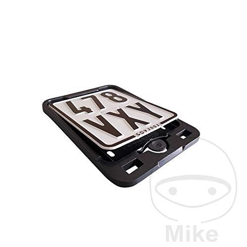 Kennzeichenhalter 135x110 schwarz