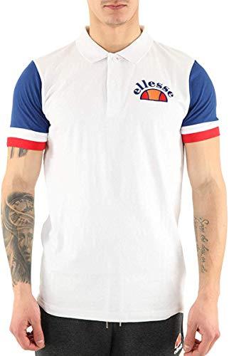 ELLESSE DEUTSCHL. GMBH SHE08517H - COSTA Poloshirt White Gr. L