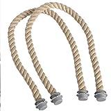 N/V Clásico Mini de la Cuerda de la Manija Con Inserción de Lona Impermeable Bolsa de la Banda Para Obag Bolso Mujer Accesorios