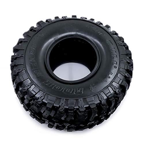 RC 120MM 1.9' Rubber Rocas de neumáticos/neumáticos de Las Ruedas de 01:10 RC Rock Crawler Axial SCX10 TF2 Traxxas TRX-4 D110 90047 D90 (Color : 1PCS)