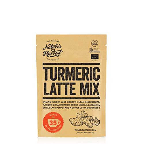 Natures Harvest Organic Turmeric Latte Mix 70 g