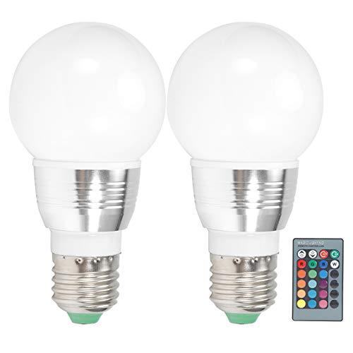 Bombilla de luz E27 sin radiación, bombilla de bola, bajo consumo de energía para baños de pasillos de dormitorio de mina