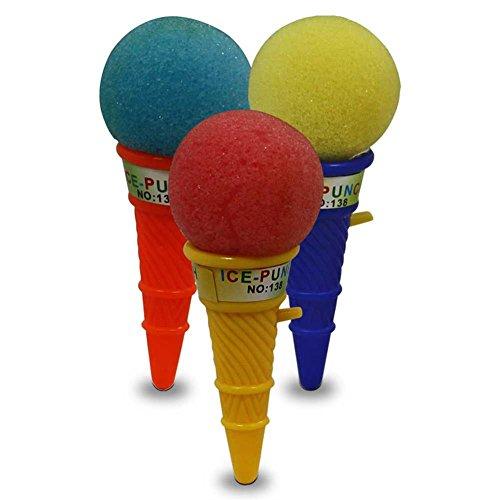 Unbekannt 10 coni per gelato con pallina, 10 cm