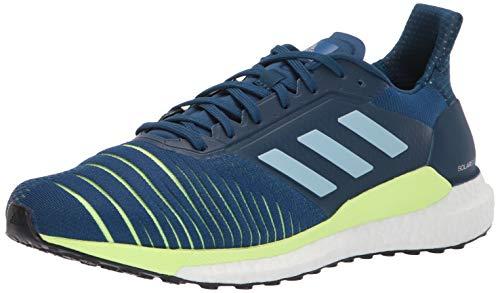 adidas - Zapatillas para correr Originals Solar Glide St para hombre, Azul (Legend Marine/Gris Ceniza/Amarillo), 40 EU