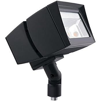 1 RAB LFLED8N LED FLOOLIGHT 120//208 4000K WHITE