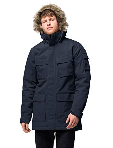 Jack Wolfskin Glacier Canyon Veste Homme Night Blue FR: XL (Taille Fabricant: 5)