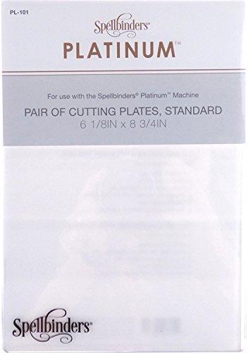Spellbinders PL-101 Platinum Cutting Decorative Plates, Standard