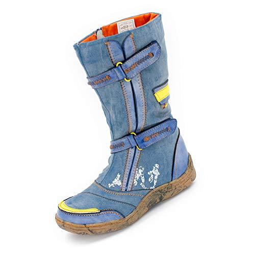 TMA Damen Winterstiefel 14411 Jeansblau 36
